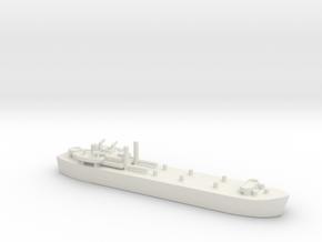 landing ship tank MK3 HMS MESSINA LST 3043 1/600 in White Natural Versatile Plastic