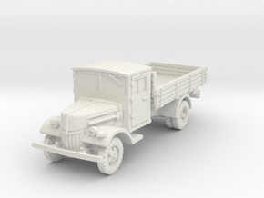 Ford V3000 late (open) 1/87 in White Natural Versatile Plastic