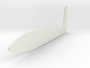 Tamiya Blazing Blazer Large Right Side Wing f/Roof in White Natural Versatile Plastic