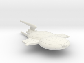 3788 Scale Gorn Neo-Command Cruiser SRZ in White Natural Versatile Plastic