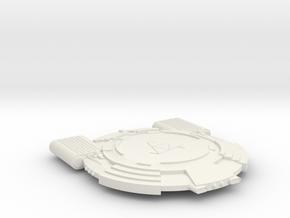 3125 Scale Andromedan Conquistador Light Cruiser in White Natural Versatile Plastic