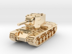 KV-2 in 14K Yellow Gold