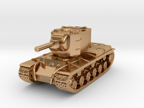Tank - KV-2 - size S in Polished Bronze