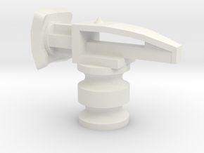 Onewa Hammerhead in White Natural Versatile Plastic