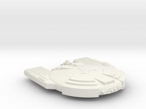 3788 Scale Andromedan Python Satellite Ship SRZ in White Natural Versatile Plastic