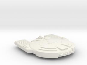 3125 Scale Andromedan Python Satellite Ship SRZ in White Natural Versatile Plastic