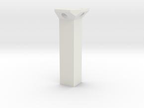 Corner-holder for Tenda Nova MW6 in White Natural Versatile Plastic