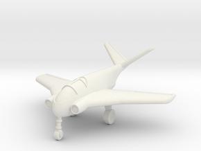 (1:144) Messerschmitt Me P1011 (1994) (wheels down in White Natural Versatile Plastic