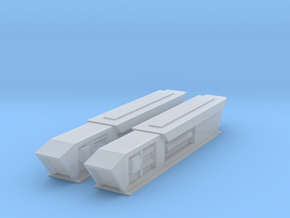 1000 Pointy-Eared Adversary Nacelles 2 in Smooth Fine Detail Plastic