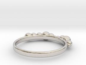 Balled Ring in Platinum