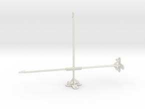 Apple iPad Air (2019) tripod & stabilizer mount in White Natural Versatile Plastic