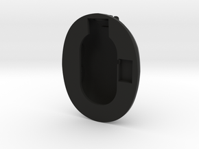 Ear Cup Mark 11 in Black Natural Versatile Plastic