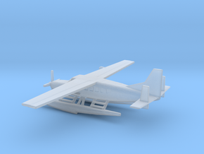 1/500 Scale Cessna 208 Float Plane in Smooth Fine Detail Plastic