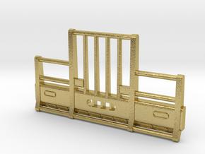DCP Kenworth Vertical bar bumper in Natural Brass