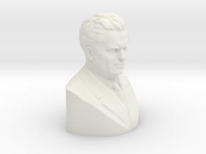Tito Scan in White Natural Versatile Plastic