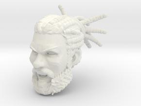 Curragh Head Battle Cry 1 in White Premium Versatile Plastic