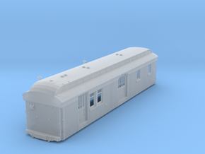 C&S Baggage/RPO Cars 10, 11, 12 BODY ONLY in Smooth Fine Detail Plastic