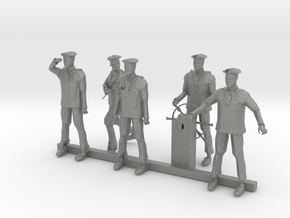 S Scale Sailors in Gray PA12
