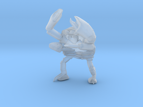 mutant_crab_man2 in Smooth Fine Detail Plastic