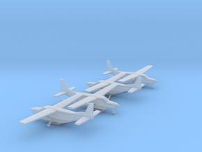 Cessna 208B Grand Caravan in Smooth Fine Detail Plastic: 1:500
