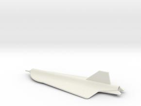 1/144 Scale D-21 Drone in White Natural Versatile Plastic