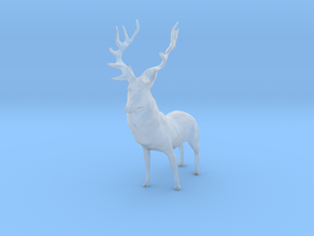 S Scale Deer in Smooth Fine Detail Plastic