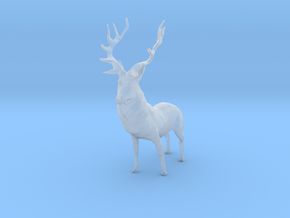 O Scale Deer in Smooth Fine Detail Plastic