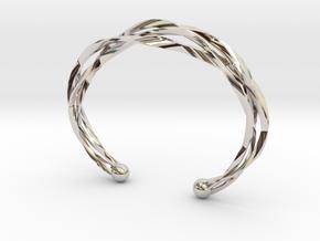 Vision Bracelet  in Platinum