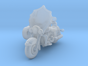 40s Batmotorcycle 160 scale in Smooth Fine Detail Plastic