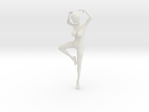 Printle L Femme 319 - 1/32 - wob in White Natural Versatile Plastic