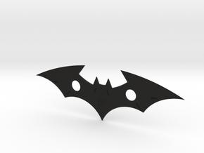 """""""Batman - The Telltale Series"""" Batarang Replica in Black Natural Versatile Plastic"""