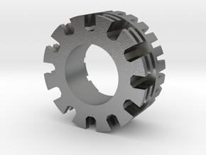 Plug Core A in Natural Silver