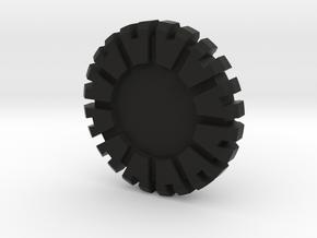 Plug Core B in Black Natural Versatile Plastic