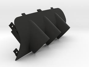 Suzuki Swift triple gauge holder in Black Natural Versatile Plastic