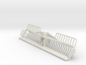 1/32 3 meter maaikorf in White Natural Versatile Plastic