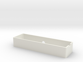 Vaterra Ascender battery tray v2 in White Natural Versatile Plastic