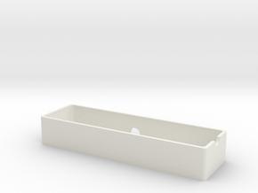 Vaterra Ascender battery tray v2 in White Natural Versatile Plastic