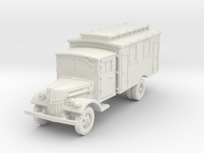 Ford V3000 Ambulance late 1/56 in White Natural Versatile Plastic