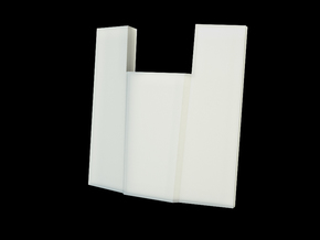 Iron Man Spine Vertebrae (2 out of 6) in White Natural Versatile Plastic