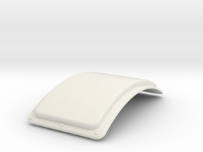 G Scale Reading T1 Superheater Cover in White Natural Versatile Plastic