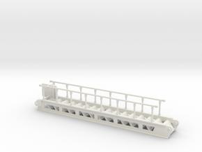 accommodation ladder S steps - 1:50 in White Natural Versatile Plastic