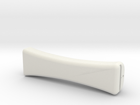 American Bow Handle in White Natural Versatile Plastic