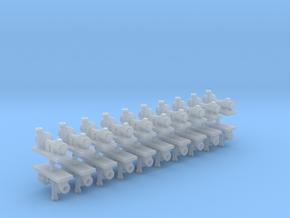 Zentrifugalpumpe neuere Bauart 20erSet - TT 1:120 in Smooth Fine Detail Plastic