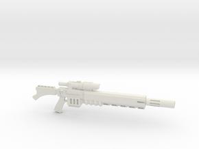 Warhammer 40k Vindicare Rifle in White Natural Versatile Plastic