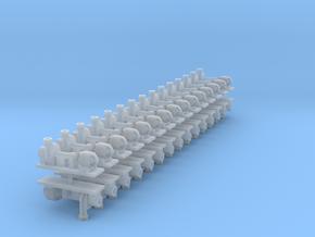 Zentrifugalpumpe ältere Bauart 30erSet - TT 1:120 in Smooth Fine Detail Plastic