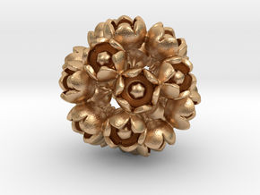 ROSE DODECAHEDRON in Natural Bronze