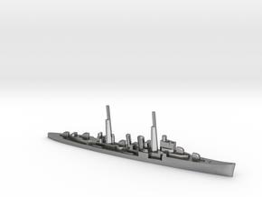 HMS Delhi (masts) 1:2400 WW2 naval cruiser in Natural Silver