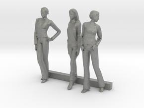 S Scale Women 3 in Gray PA12