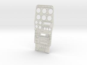 1.2.7 HUGHES 500D COCKPIT (D) in White Natural Versatile Plastic
