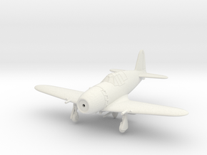 1/144 Mitsubishi J2M5 Raiden in White Natural Versatile Plastic